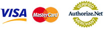 Visa / Mastercard -- Authorize.net Verified Merchant